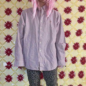 Awesome Ralph Lauren plaid dress shirt